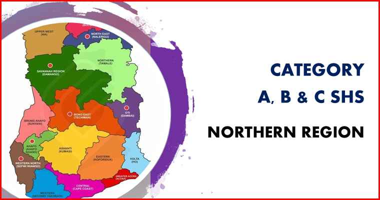 Northern region category A, B and C SHS