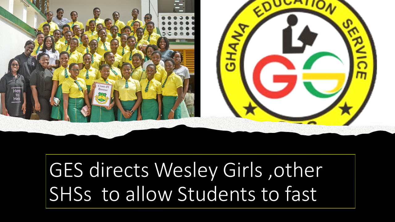 GES direct wesley girls to allow students to fast
