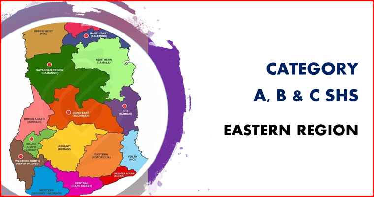 Eastern region category A, B and C schools